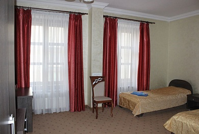 double room for persons with reduced mobility — 34.80 BYN/person/day