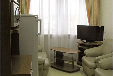 enhanced comfort single two-room accomodation — 50.40 BYN/person/day